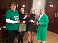 Na Gaeil women that were part of the scetch group that qualified for the County Final of Scór Sinsear
