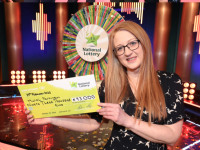 Sharon Parkinson who won €93,000 on the Winning Streak show on Saturday.