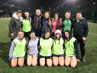 A few of Kerins O' Rahilly's U16s after an    enjoyable Gaelic4teens session last week.     Pictured here- ( Back left to right)     Tricia Moran, Bronagh Carroll, Lauren     Nolan, Kate Kerins, Siúna Crowe, Lauren     Doody, Damien Kissane     Front row( left to right) Hollie Leane,        Jennifer Murphy, Isobel O' Connor, Lily O'    Brien and Keelan  Coffey .