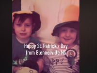 WATCH: Blennerville School Video Of Pupils Celebrating St Patrick's Day At Home