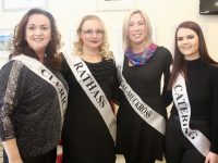 UHK 'Sickly Come Dancing' contestants Elma O'Brien, Carmel Quinlan, Breda Twomey and Lorraine Hobbert at the launch on Monday afternoon. Photo by Dermot Crean