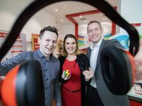 No repro fee 2-3-2020 Picture shows from left Adam Harris, CEO, AsIAm; Anita Carra, Consumer Director, Vodafone Ireland; and James Magill, HR Director, Vodafone Ireland  at the launch of Vodafone Ireland's Autism Friendly retail programme which is now available across 25 Vodafone stores nationwide.  Vodafone is the first network in Ireland to introduce autism friendly hours in its retail outlets as part of the wider neurodiversity company programme which also runs across employment opportunities, events and education.  The new programme will see reduced noise, priority seating and appointments in stores every Wednesday between 9am and 11am.  Vodafone implemented this new programme by working closely with AsIAm, a not-for-profit charity organisation working on behalf of the Autism Community in Ireland to empower, educate and advocate concerns for the Autism Community.  Autism immediately affects a quarter of a million people in Ireland when taking in the family unit. Vodafone is committed to helping this community by creating accessibility measures in store, supporting inclusive employment and making its technology services more accessible to autistic people.Pic:Naoise Culhane-no fee