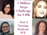ITT Student Nurses Take On 14-Day Step Challenge To Help UHK's Fight Against COVID-19