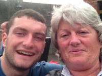 Eoghan Galvin with his late mother Anne.