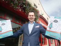Adam Harris of As I Am launching the learning resource toolkit available in Supervalu stores from Monday.