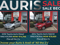 Sponsored: All The 2's At Kelliher's Toyota!