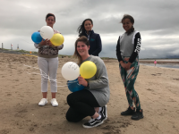 The launch of the Balloon Walk which takes place in Ballyheigue next Monday.