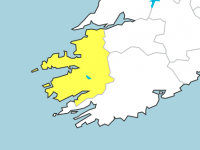 Another Rainfall Warning To Take Effect In Kerry Overnight