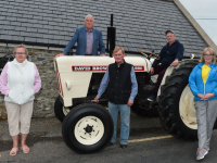 Heritage Weekend at the Forge in Churchill, by the Spa Fenit Community Council, begins on Saturday August 15th, we will start with a Vintage Car Run beginning at the Forge in Churchill at 7pm, and on Sunday August 16th at 12noon it is the turn of the Vintage Tractors to take off and returning at 2pm to a full day at the Forge, with new attractions  in the Hall, and Field events, committee from left Nora Landers, Dermot Crowley, John Foley, Peter Carmody and Michelle Burke. Pic John Cleary.