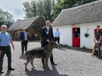 Kerry Bog  Village Museum, Glenbeigh, one of the various visitor attractions where there will be  free entry to visitor attractions throughout Kerry on Thursday, July 30 as part of a new initiative launched today by Kerry County Council and the Kerry Tourism Industry Federation. From left, John Mulvihill, Proprietor, Michael Larkin, KTIF, Cathaoirleach Kerry County Council, Cllr Patrick Scarteen O'Connor, Cllr Michael Cahill, Darragh O'Sullivan, Rosspoint Bar and Restaurant, Glenbeigh and Timmy Mulivhill, Kerry Bog Village Musuem.  Kerry Tourism Day aims to showcase the incredible selection of visitor attractions throughout the kingdom. Locals and visitors alike are invited to experience many of the county's tourist attractions and experiences free of charge for one day. To view to full list of participants and avail of either free tickets, complimentary tours or bespoke events simply log onto www.DiscoverKerry.com . Photo: Valerie O'Sullivan/ FREE PICS