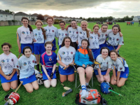 Tralee Parnells U14 Camogie team that competed in the U14 Co. Championship blitz in Caherslee last Thursday.