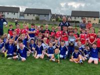 Kerins O' Rahilly's U8 Boys who hosted St. Pats last Sunday in Ballyrickard.