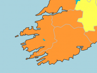 Wind Warning Elevated To Status Orange For Kerry