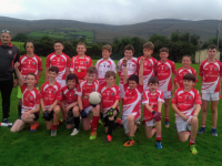 St Pats U12 team who won against Castlegregory in a very keenly contested Round 2 Phase 2 U12 competition in Blennerville last Sunday evening.