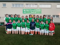 Na Gaeil Ladies Minor Football Team that defeated Abbeydorney on Friday evening.
