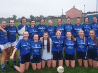 "Kerins O"" Rahilly's Minor ladies who played Beale/ Ballyduff last week"