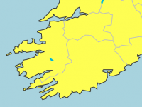 Status Yellow Rainfall Warning For Kerry On Thursday
