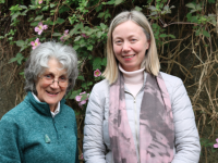 Sylvia Thompson member of the diocesan Justice, Peace and the Integrity of Creation Committee with Lorna Gold, Climate Activist, keynote speaker at our central event a Free Webinar Event 17th September to celebrate the season.