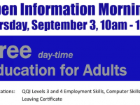 Tralee VTOS Open Information Morning Takes Place Tomorrow