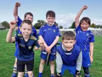 Ballymac GAA U8 Boys who took part in a County Coaching & Games Blitz V Kilcummin in Kilcummin last Sunday.