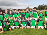 Na Gaeil U8 squad that hosted Currow in Killeen on Sunday.