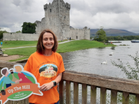 "Pictured at Ross Castle, in Killarney, is Siobhan Reen, Specialist Children's Liaison Nurse for Kerry, Jack & Jill Children's Foundation, who is urging the people of Kerry to go ""Up the Hill for Jack and Jill"" for a socially-distanced challenge in October."