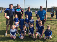 Kerins O' Rahilly's U6s with their coaches Ger O' Brien, Ben O' Brien, Johno Connor and Ray Walsh
