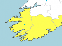 Rainfall Warning For Kerry On Tuesday Night