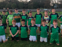 Na Gaeil U10 team that played Churchill recently.