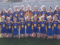 The Ballymac u14 Girls team who finished in the top Four of the Trophyworld Division One Co League last week.