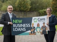 Cara Credit Union CEO Pa Laide with Sarah O' Regan Head of Credit at Cara Credit Union.