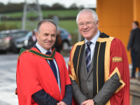 Dr Barry O'Connor President CIT and Dr Brendan O'Donnell President ITT.