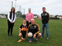 Representing the event organising committee at the launch in Connolly Park were Mags O'Regan Quillinan, Eileen Nagle, Tim McMahon and Niall Lucey, with Tadhg Lucey.