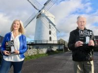 Launching John Cleary's latest book at Blennerville Windmill on Saturday were  Radio Kerry's Deirdre Walsh and John Cleary. Photo by Dermot Crean