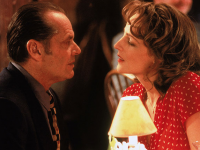 Jack Nicholson and Helen Hunt in 'As Good As It Gets'.