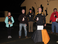 Pictured at the Austin Stacks commemoration ceremony for the victims of Bloody Sunday L/r Adrienne McLoughlin, Carmel Quilter O'Neill, Eamonn O' Reilly, Jim Naughton, Billy Ryle, Eddie Barrett and Mairéad Fernane.