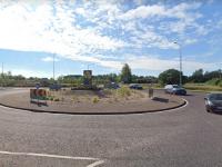 Ballymullen roundabout.