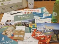 The Wellbeing Pack distributed by Kerry County Council and partners.