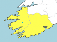 Status Yellow Wind Warning Issued For Kerry