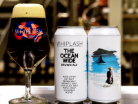 The Ocean Wide brown ale inspired by Fungie.
