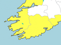Wind Warning Issued To Accompany Rainfall Warning Tonight In Kerry