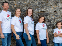 Tommy, Emma, Niamh, Sophie and Liam Culloty all set for the Lee Strand & An Riocht Family Fun 5K Challenge.