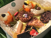 An Easter box of treats from Ballygarry House Hotel.