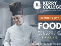 Fully-Funded Culinary Arts Course At Kerry College