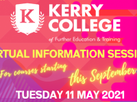 Series Of Live Webinars To Be Hosted By Kerry College