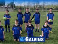 The Ballymac GAA U11 boys are delighted with their new Club jerseys,kindlysponsored by Ballymacelligott Company C A Galvin LTD. Ballydwyer.