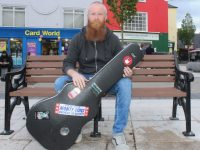 Ross Brassil who is organising the protest in the Square on June 23. Photo by Dermot Crean