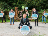 Mayor of Kerry Cllr Patrick Connor Scarteen pictured with some members of the Steering Committee at the launch of the 2020 Kerry Mental Health and Wellbeing Fest.