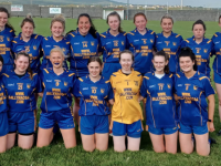 Our Senior Ladies Blue team prior to the Game V Bealeon Thursday night, 17thJune, in Ballybunion, as Ballymacelligott LGFA became only the second club in Kerry to enter two Senior Ladies sides in a competition.