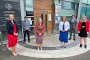 Teresa Lonergan, Conall Ó Cruadhlaoich , Ann O'Dwyer, Margaret Godley, Liam Mc Gill and Jennifer Barry